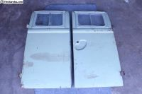 61-63 Camper Bus Side Cargo Doors