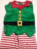 Baby elf outfit