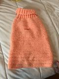 Crocheted by me large dog sweater
