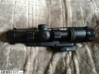For Sale: Trijicon Accupower 1-4x Red LED W/ Bobro Mount