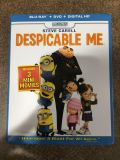 Despicable Me blue ray/DVD