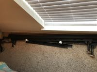 Full/Queen Size Bed Rails