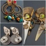 3 pairs Boutique earrings