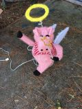 Flying Pig Christmas Decoration