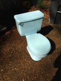 Toilet - Light blue color - excellent condition