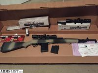 For Sale: Springfield m14/M1A scout model with ammo, mags + 2 vortex scopes.