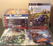 3 NEW/SEALED & 6 USED/LIKE NEW PS3 GAMES