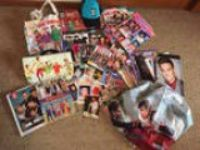 One direction massive bundle of band memorabilia