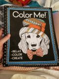 Thick coloring book! New