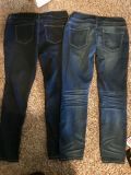 2 pairs of XL maurices skinny jeans