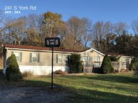 Spacious 4 Bedroom 2.5 Bath  Mobile Home Located In Monaghan Township In Northern School District