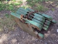 John Deere suit case weights