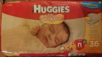 95 ct New Born diapers