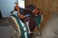 NEW 16 15 HIS  HER matching riding saddles