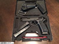 For Sale: Cz 75 SP-01 w/5 mags and holster