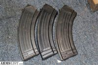 For Sale: 3 X 30rd ALL STEEL AK MAGAZINES