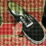 NWT Low Top Black and White Vans