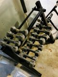 Small weight set with stand
