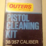Pistol Cleaning kit - 38/357 Caliber