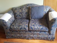 Floral sofa 2 seater with cushions