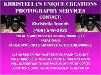 Khristella's Unique Creations Photography