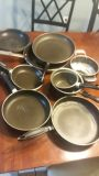 Pot and pans $6 lot. Used conditions 10 pieces
