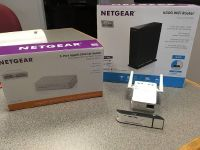 Wi-Fi Router, WiFi Range Extender, 5-port Gigabit Network Switch and USB Adapter BUNDLE