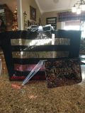New with tags Victoria Secrets tote and make up bag. Great Christmas gift for teen.