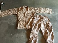 Set of Desert Cammies Medium Regular and Medium Long.