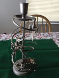 Silver/Brass Candle Stick