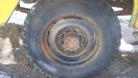 "OEM 1956 Chevy Truck Wheels 8"" X 17.5"" - 8 Lug"