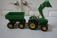 John Deere Monster Treads Tractor and Wagon