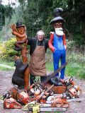 Chainsaw Yard Art (Sunshine Coast)