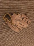 Kids Beat Up All Leather Crown Back Baseball Glove Swap Only
