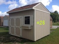 10x12 Garden Shed Storage Building Shed Pre-owned!!!