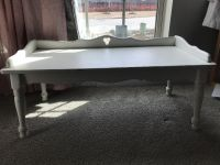 Shabby Chic low bench or table