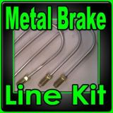 Purchase Brake line kit Caprice, Malibu: Chevelle 1971 1970 1972-replace rusted lines!!!! motorcycle in Duluth, Minnesota, United States, for US $58.95
