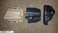 For Sale: 3 Glock Holsters