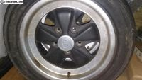2 O.G German PORSCHE 16 x 7 Fuch Alloy Wheels