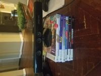 Xbox 360 Kinect with 6 games