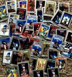 Lot 45 Super Bowl program covers trading cards