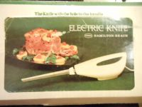 NIB Hamilton Beach Acacado Electric Knife, Vintage