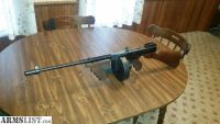 For Sale: Thompson submachine gun