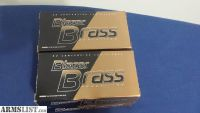 For Sale: 4 boxes of 124 gr 9mm Blazer Brass
