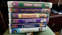 Lot of 6 vhs