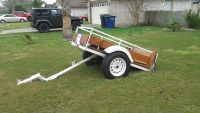 $400, utility trailer 64x 39 tilt. all new hardware