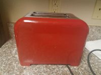 Kenmore red and silver 2-slice toaster