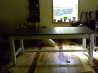 DINING / HARVEST TABLE, BY BALLARD DESIGNS, ...