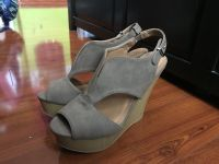 Taupe wedges size 7 Charlotte Russe