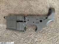 For Sale: Stripped AR-15 Lower Receiver (Model: AR-57)